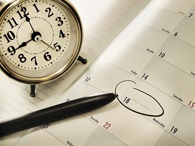 Правила планирования начала, середины и завершения рабочего дня